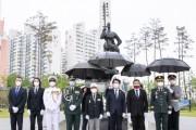 서구, '6.25 참전 콜롬비아군 헌화식' 개최